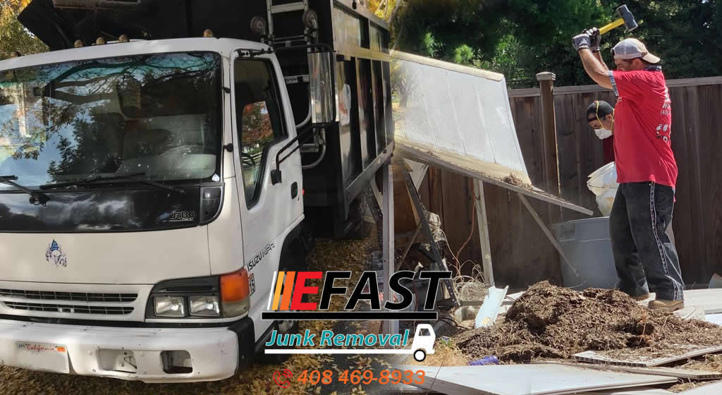 Affordable Residential Junk Removal and Debris Hauling Services San Jose, Peninsula & South Bay  AffWe offer affordable junk removal services in San Jose and nearby cities, cost-effective backyard clean out services that saves you time and money, also included appliances removal,
