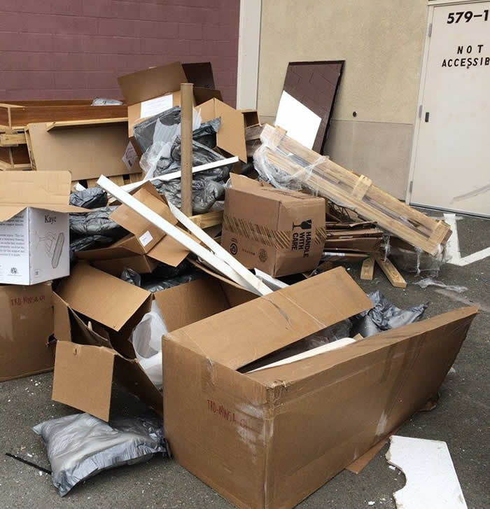 Office junk and debris removal bay area