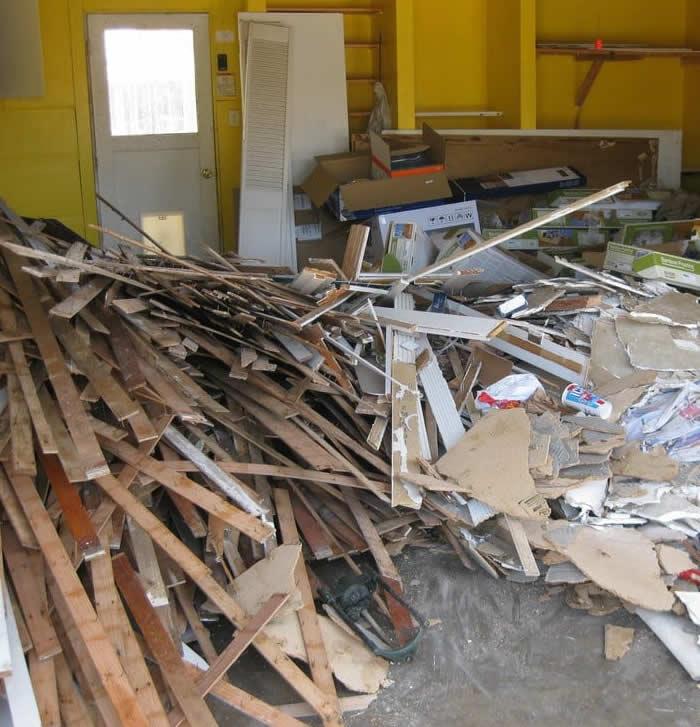 post construction debris removal bay area